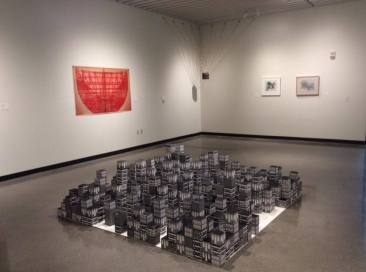 """Currency: 11th Turner National Print Competition and Exhibition"" Jacki Headley University Art Gallery January 30th - March 4th, 2017 Photo from The Janet Turner Print Museum www.theturner.org"